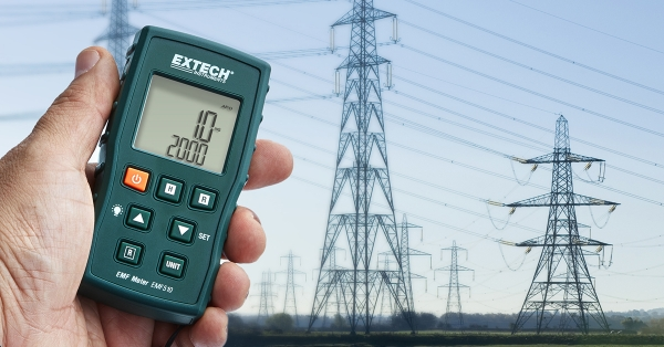 Extech Launches Compact EMF Meter Optimized for Extremely Low Frequencies